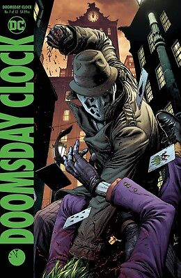 Doomsday Clock #7 Frank Variant Dc Comics Near Mint 9/26/18