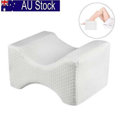 Contour Memory Foam Leg Pillow Orthopaedic Firm Back Hips & Knee Support AU!