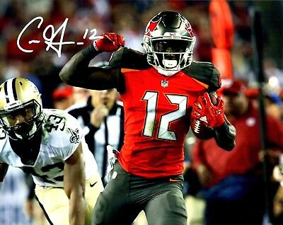 8bb2c8d6f CHRIS GODWIN AUTOGRAPHED HAND SIGNED 8X10 PHOTO TAMPA BAY BUCCANEERS w COA