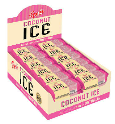 Gran's - Coconut Ice (36 x 40g wrapped in a display box)