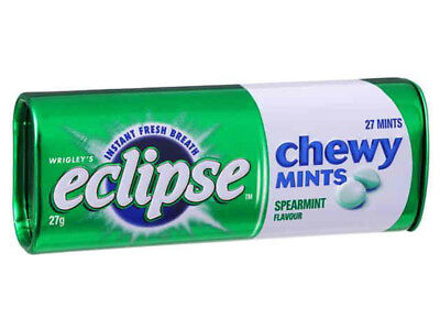 Eclipse Chewy Mint - Spearmint (27g x 10 tins in a display unit)