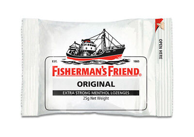 Fishermans Friends - Original Extra Strong Menthol (12 x 25g bags)