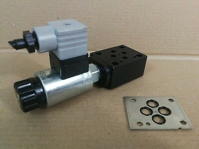 Sun Hydraulic CETOP 3 Ng6 Interface Mounted Poppet Valve DTDA MCN GBS/S 24VDC *