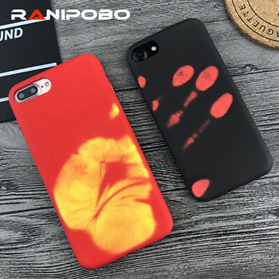 Thermal Sensor Phone Case for iphone 7 7 Plus 6 6s Plus Heat Induction cover