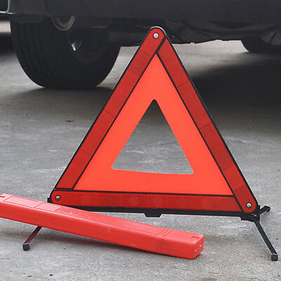 Car Triangle Safety Warning Parking Sign Reflective Fold able Road Emergency New