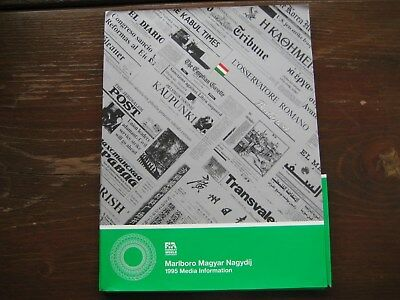 Media Information Presskit Hungarian Grand Prix Budapest 1995