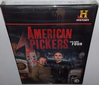 American Pickers Volume 4 Brand New Sealed R1 Dvd