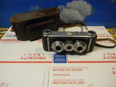 Vintage Witt Iloca Stereo Ii 35 Mm Camera With Case In Great Working Condition