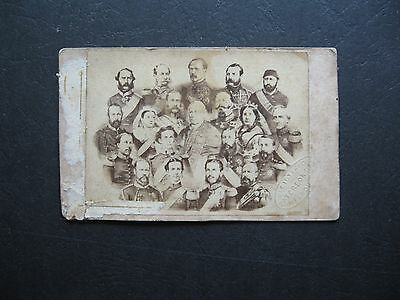 Group Of Royalty  Patterson Melbourne CDV