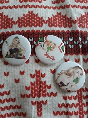 Kylie Christmas Royal Albert Hall Badges From 2016