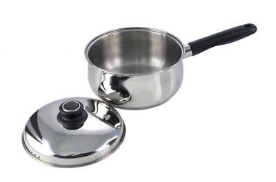 Pendeford Stainless Steel Collection Sauce Pan With Lid 18cm