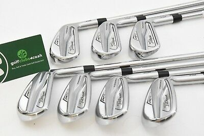 Titleist Ap2 718 Forged Irons / 4-Pw / Stiff Amt White Shafts / Tiiap2261