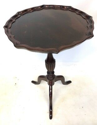 LARGE Antique Style Mahogany Wine / Occasional Table / Lamp Stand c1920 (a82)