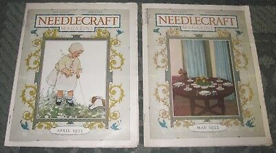 2 April 1922 And May 1922 Publications - Needlecraft