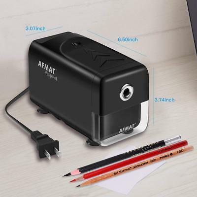 Pencil Sharpener Electric Automatic Heavy Duty Hand Crank Kids School Home New