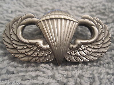 WWII US Army Airborne Jump Wings Parachute Badge Paratrooper WW2 Jump Wings