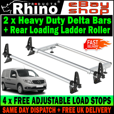 Barn Doors Van Guard ULTI Bar Aluminium Rear Ladder Roller for Mercedes Citan