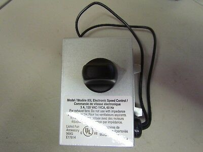 New ON / Off Electronic Rheostat Speed Control 3 AMPS 120V 60 HZ  Braun
