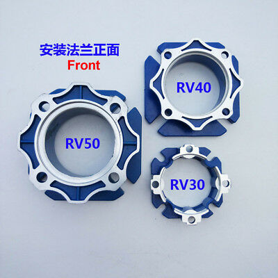 NMRV030/040/050 Turbo Worm Gearbox Speed Reducer Output Flange Aluminum-Alloy