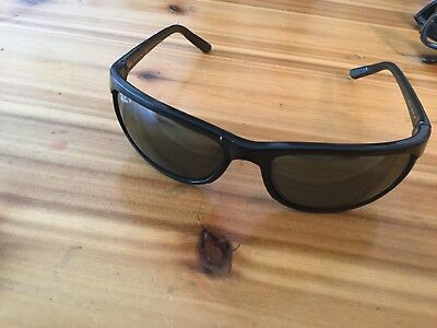 118c1b76a3 Ray-Ban RB2027 601 W1 3P predator wrap POLARIZED De Luxe sunglasses Black