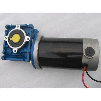 GW80170 Worm Gear Motor DC12V 90W 15A Large Torque DC Motor Speed 12-240RPM