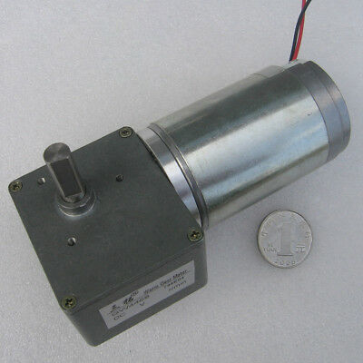GW4468 Worm Gear Motor DC12V 24V 80-200RPM High Speed DC Gear Motor with Gearbox