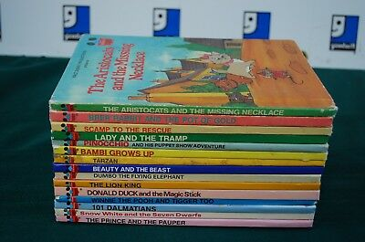 Disney's Wonderful World of Reading Books Hardcover lot of 15, No Repeats