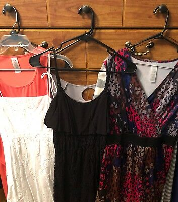 Lot of 6 Dresses (mark, Avon, Mudd, takeout, Candie's) Size Medium (See Pics)