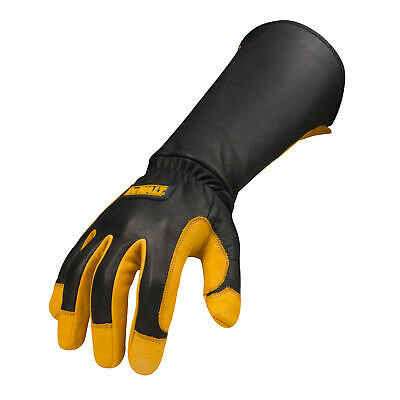 DEWALT DXMF04051 Premium Leather Welding Work Gloves