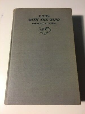 Gone With The Wind - Margaret Mitchell July 1946 Vintage HC Macmillan