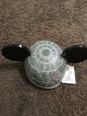 Star Wars Rogue One Deathstar Hat Cap Mickey Mouse Ears New With Tags NWT Disney