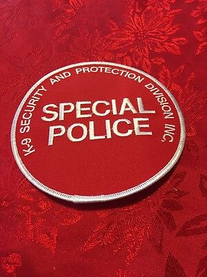 Special Police Lot Of 5 Security Patches