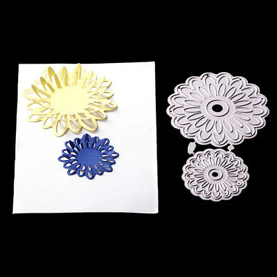 Flowers Cards Cover Decor Metal Cutting Dies Stencils for DIY Scrapbook Album FO