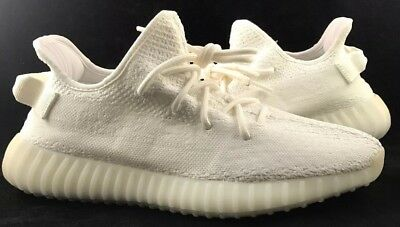 online store 5d0a3 e7c9f YEEZY BOOST 350 V2 Triple White Mens Size 10