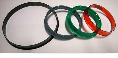 Set of 4 Hub Centric Rings / Spigot Rings Made in EU more than 250 sizes