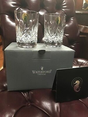 Waterford Crystal Heritage Ferndale Juice Tumbler Pair - NIB - Retail $99