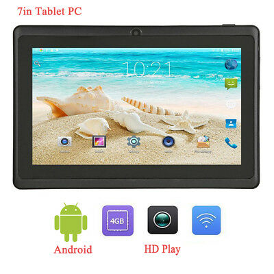 7in Q88 Android 4.4 A33 Quad Core 4GB ROM 512MB RAM WiFi 1.3MP Cam Tablet PC US