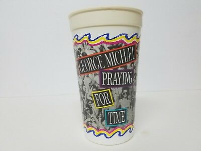 George Michael Praying for Time Taco Bell Collectible Large Plastic Cup