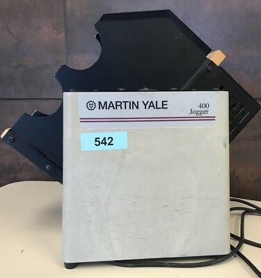 "Martin Yale, Model 400, Paper Jogger, 8 1/2"" x 11"" (USED - GREAT CONDITION)"