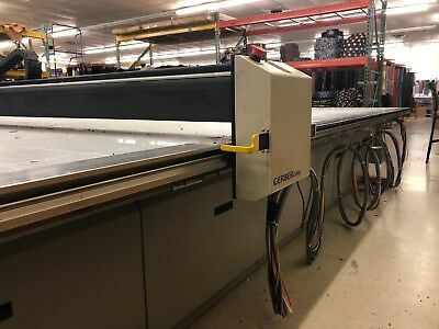Gerber Taurus CNC Leather Cutting Table