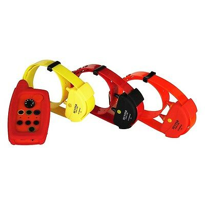 Waterproof Remote Dog training collar range up to 10,000 meters  for 3 dogs