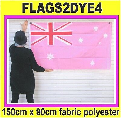 Australian flag baby pastel pink includes AUSTRALIA POST TRACKING