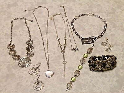 Jewelry LOT 9 PCS - PURE, ANNALEECE, BAUBLEBAR, NINE WEST GUESS AND MORE