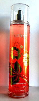 BATH & BODY WORKS * PEARBERRY * Fragrance Body MIST SPRAY 236ML