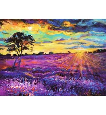 1000 piece jigsaw puzzle- Sunset (High Quality European Blue Board)