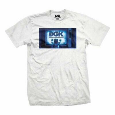 Dgk Static T-Shirt White Skateboard Chemise TAILLE  S-XL b31643a13dc80