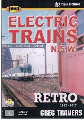 Just Electric Trains Nsw 1972-2017 2 Disc Set