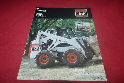 MUSTANG 910 911 Skid Steer Loader Dealer's Brochure CDIL - $16 19