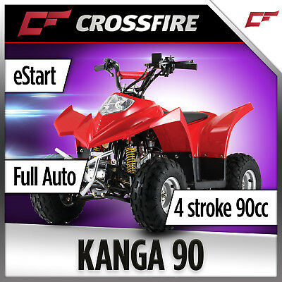 Crossfire Kanga 90cc Quad Bike, ATV Motorcross