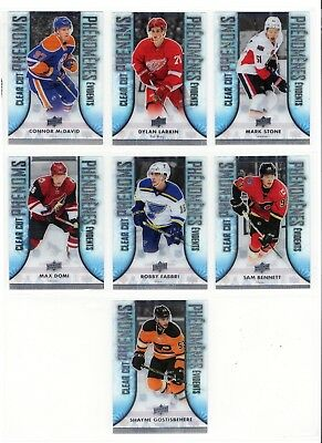 2016-17 Ud Tim Hortons Clear Cut Phenoms You Choose U Pick
